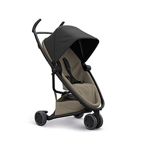 Quinny Zapp Flex Passeggino per Bambini Fronte Retro, Reversibile Reclinabile, 3 Ruote, Black on Sand