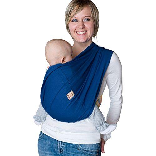 Babytuch - das Tragetuch ohne Knoten (6, Nachtblau)