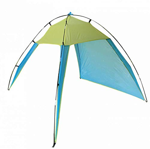 Family Beach Tent and Cabana Shelter with Umbrella, Instant Pop-Up Folding Tents, Portable Breathable, Wide Field of View for Camping, Hiking, Fishing