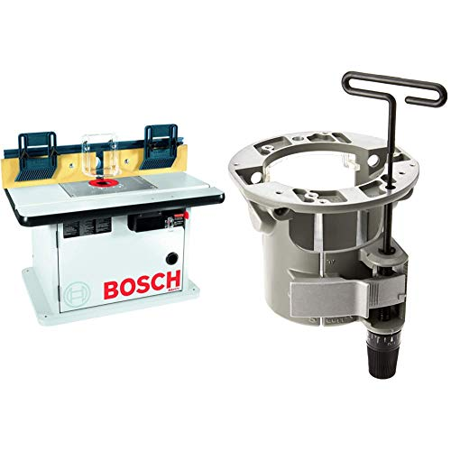 Bosch Cabinet Style Router Table RA1171 & Under-Table Router Base with Above-Table Hex Key RA1165