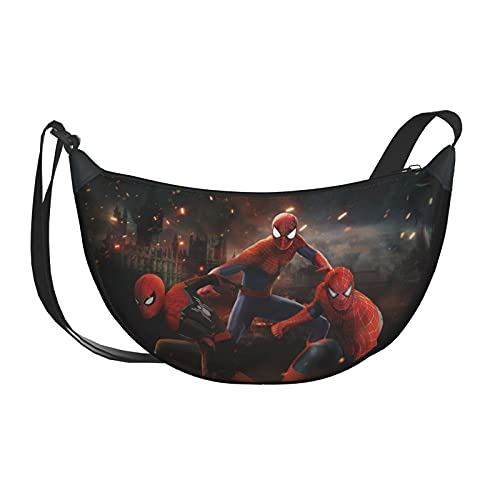 Spider-Boy combination Shoulder Bag Cross Body Bags Sling Backpack Unisex School Sport Travel Camping Accessories Daily Use