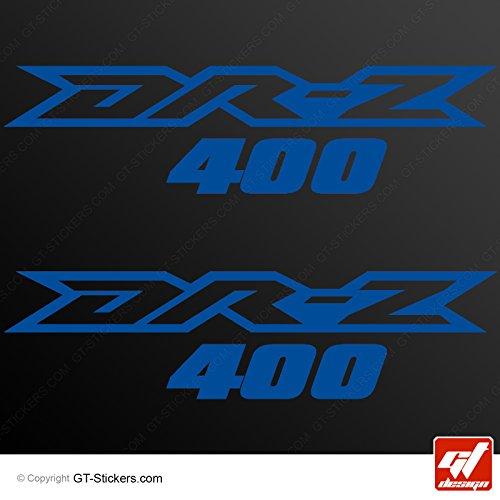 Aufkleber Suzuki 400–Blau Traffic–DRZ 400, DRZ400drz-400,, Sticker, selbstklebend, Aufkleber, gt-design