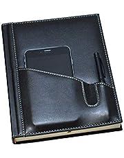 2K 5464 Ajanda/Defter Tarihsiz 17x24 Çizgili 160 Yaprak Ivory Kağıt Telefon Kılıflı