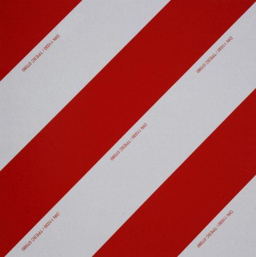WAMO Warntafel 423 x 423 mm DIN11030 TPESC Zulassung linksabweisend
