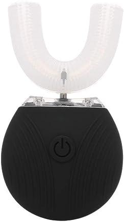 U型電動歯ブラシコールドライトホワイトニング防水性インテリジェント超音波360°オールラウンドクリーニング