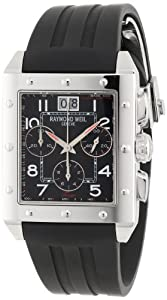 Raymond Weil Men's 48811-SR-05200 Sporty Chronograph Watch Check Prices and Now and review image