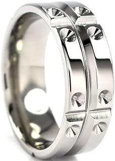 Titanium Ring, Matrix Rings Design, Men's Rings, Titanium Bands