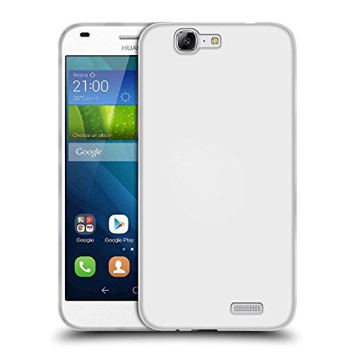 TBOC Funda de Gel TPU Transparente para Huawei Ascend G7 de Silicona Ultrafina y Flexible