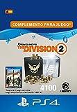 Tom Clancy's The Division 2 - Pack de 4100 créditos premium - 4100 Credits DLC | Código de descarga PSN - Cuenta española
