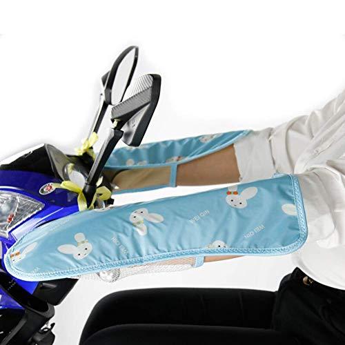SHKUU Cubierta sombrilla Motocicleta eléctrica Universal, guantelete Protector Mano, Guantes Bicicleta Manillar Protector Solar Agarre Motocicleta