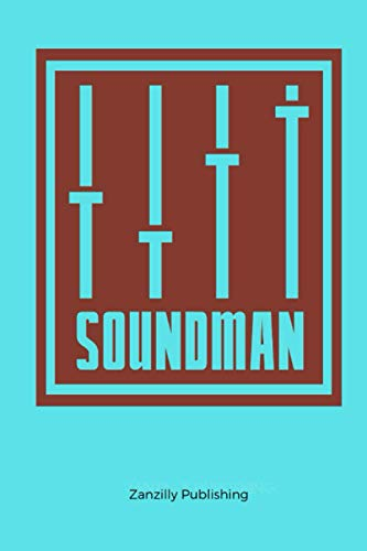 Soundman: 120 pages of lined paper - makes excellent gift idea for family, friends and coworkers