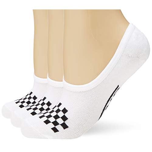 Vans WM Classic Canoodle 6.5-10 3pk Calze, Bianco (White-Black YB), Unica (Taglia Produttore: OS) Donna