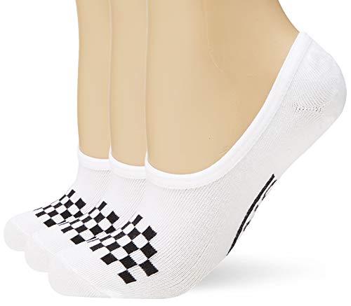 Vans Damen Wm Classic Canoodle 6.5-10 3pk Socken, Weiß (White-Black Yb), One size (Herstellergröße: OS)