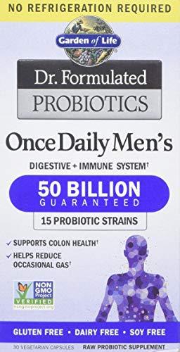 Garden of Life Dr. Formulated Probiotics, Once Daily's Men's, 30 Veggie Caps - 1 Units