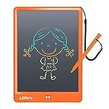 Tableta de Escritura LCD 10 Pulgadas, Tablet Escritura Pantalla LCD eWriters Infantil Tableta Grafica Dibujo Niños Adecuada para el Hogar, Escuela, Oficina, Cuaderno de Notas (Naranja)