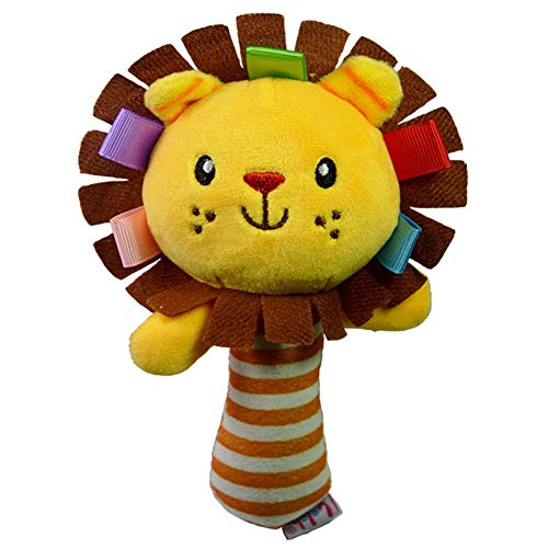 JMCT-DQ JMCT-DQ - Sonajeros para aprender a tocar los animales y los niños (color: lión)
