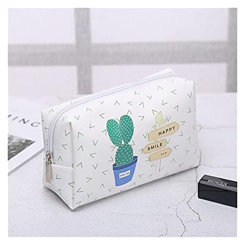 GLADMIN Purdored 1 PC Cactus Cosmetic Bag Women Bolsa de Maquillaje Gran Almacenamiento Lavado Lavado Bolso Maquillaje Caso KosmetyCzka (Color : Cactus)