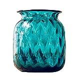 Jarrones Azul esmaltado florero, nórdico Minimalista decoración de la...