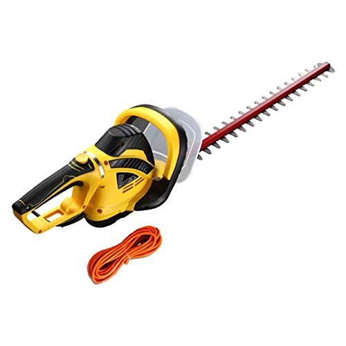 ZXMDP 850W Hedge Trimmers Cordless Hedge Trimmer Shrubber Handheld Trimmer Double-Edged SK5 Material 1700-RPM Cordless Grass Shear with 10m 30m 50m Extension Cord