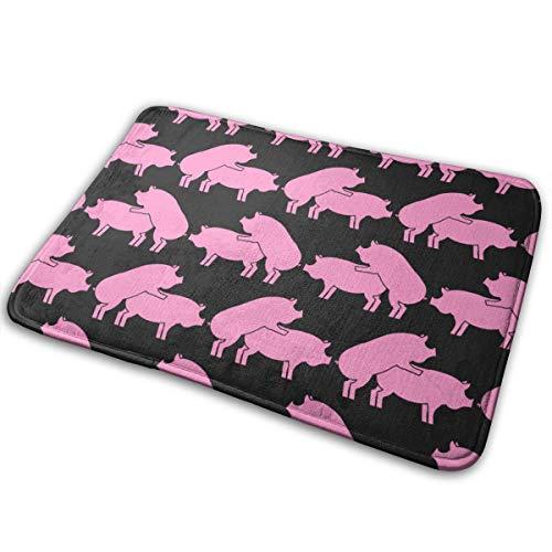 hdyefe Schwein Sex Muster Eamless Weiche/Glatte Teppiche/Matten/Teppiche für Treppen WC Boden Schlafzimmer Wohnzimmer Bad Küche Wohnkultur 40x60cm