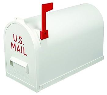 Flambeau T-R7003WT Classic Mailbox Rural Style White