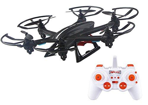 Xtreme T00158 - Esacottero con Radio Controllo 2,4 GHz a 4 Canali, con Protezione Eliche, Massima Stabilità in Condizioni di Vento Leggero, Flip 360°, Auto calibrazione