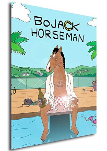 Poster BoJack Horseman (A) - Formato A3 (42x30 cm)