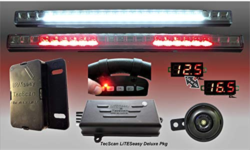 TecScan LiTESeasy Deluxe Golf Cart Remote Control Lights & All Signals Kit