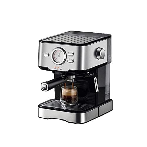 XYLXJ W pełni automatyczny młynek do kawy ekspres do kawy półautomatyczny ekspres do kawy włoski ręczny spienianie mleka typ pary mała pompa ze stali nierdzewnej kreatywny ekspres do kawy do domu browarnik