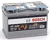 Bosch S5A08 Car Battery 70A / h-760A