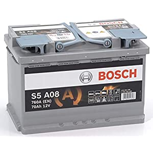Bosch S5A08 Batería de automóvil 70A/h-760A