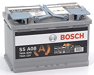 Bosch S5A08 Batterie de Voiture 70A/h-760A (B00SJ97O6W)   Amazon price tracker / tracking, Amazon price history charts, Amazon price watches, Amazon price drop alerts