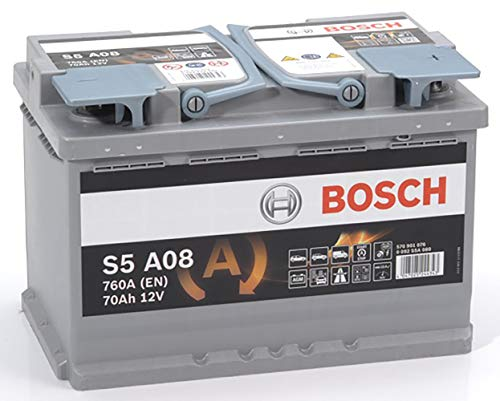 Bosch S5A08 Car Battery 70Ah-760A