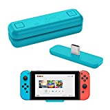 WeChip Route Air Bluetooth Audio USB Transceiver Adapter Compatible with Nintendo Switch/Switch Lite / PS4 / PC, 5mm, Lag Free, Plug and Play, Blue