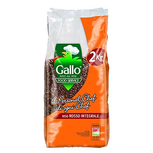 Riso Gallo Arroz Rojo Integral 2kg