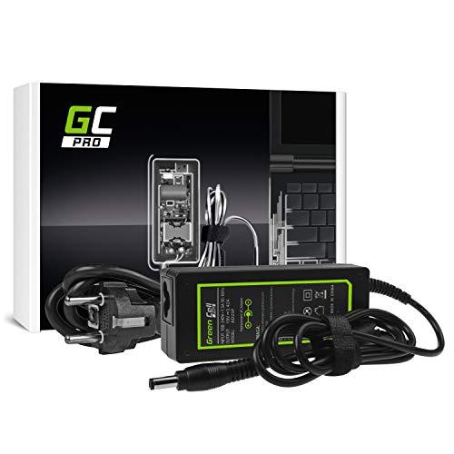 GC Pro Cargador para Portátil Toshiba Satellite L50-C-1ZQ L50-C-1ZT L50-C-1ZV L50-C-200 Ordenador Adaptador de Corriente (19V 3.42A 65W)