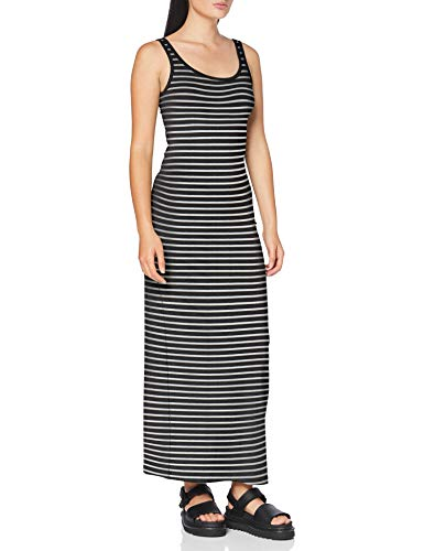 Vero Moda Vmnanna SL Ancle Dress Color Vestido Informal, Negro, L para Mujer