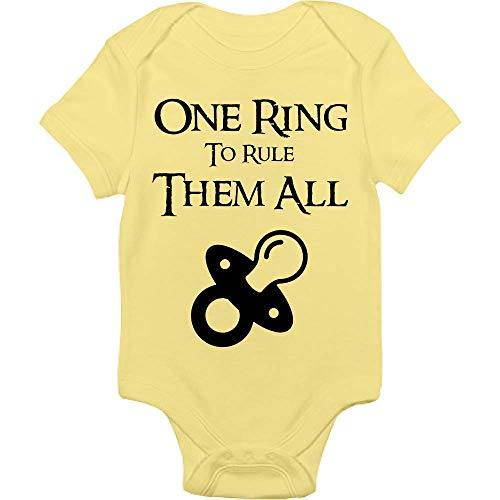 Lord Of The Rings Bodysuit - One Ring To Rule Them All - Handmade Baby Cloths For Boys And Girls - Baby Shower Gift Idea