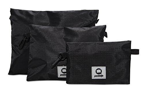 HAUPTSTADTKOFFER – Packhilfe – Reiseutensilien-Taschen, Reißverschlusstaschen, Organizer Taschen für elektronische Gadgets wie Akku, Kabel, Medikamente, Reisedokumente, 25 cm, 20 cm + 15 cm