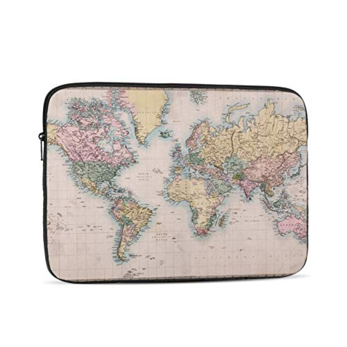 Macbookpro Case Cartoon Funny World Map Case Macbook Pro 13 Multi-Color & Size Choices 10/12/13/15/17 Inch Computer Tablet Briefcase Carrying Bag