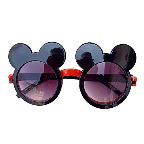 Minnie Mouse Sonnenbrille Kinder   Kinderzonnebril 100% UV 400 Schutz   Mädchen   Sonnenschutz (C)