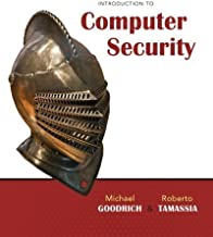 Introduction to Computer Security 1st (first) Edition by Goodrich, Michael, Tamassia, Roberto published by Addison-Wesley (2010)