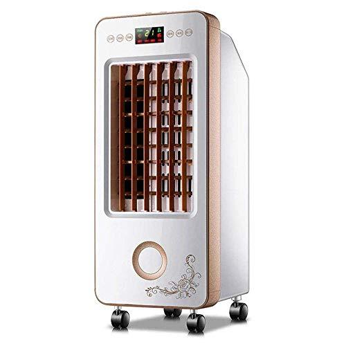 Enfriador de Aire , Acondicionador de aire, móvil, sin manguera Mini Air Acondicionador con control remoto, ventilador móvil portátil 3 Equipo de tiempo en marcha espacio personal con humidificación