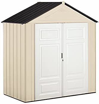 Rubbermaid Plastic7x3 Feet Outdoor Shed (Maple/Sandstone)