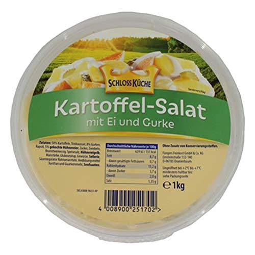 Schloss Küche Kartoffel-Salat mit Ei & Gurke - 1 kg Becher