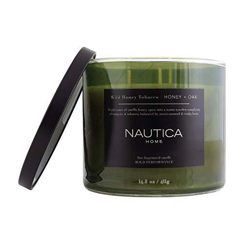 Nautica Wild Honey + Tobacco Scented Candle