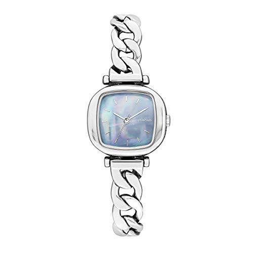 Komono Reloj analógico de cuarzo para mujer 32016368, azul, talla única,
