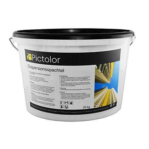 Pictolor Dispersionsspachtel 25kg weiß