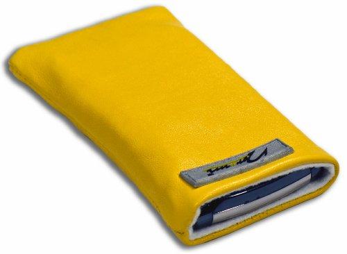 Norrun Handytasche / Handyhülle # Modell Sunja # ersetzt die Handy-Tasche von Hersteller / Modell NEC N410i # maßgeschneidert # mit einseitig eingenähtem Strahlenschutz gegen Elektro-Smog # Mikrofasereinlage # Made in Germany