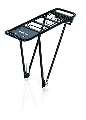 XLC Unisex– Erwachsene Gepäckträger RP-R02, Schwarz, One Size